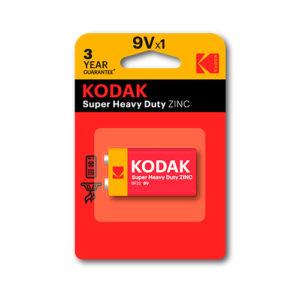 KODAK - Pilas salinas EHD 9V - 6LR61