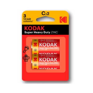 KODAK - Pilas salinas EHD C - LR14 - pack 2