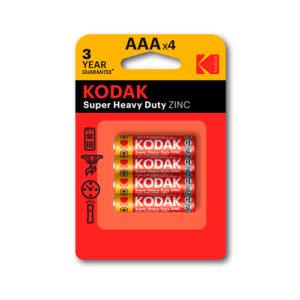 KODAK - Pilas salinas EHD AAA - LR3 - pack 4