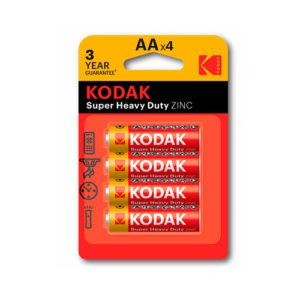 KODAK - Pilas salinas EHD AA - LR6 - pack 4