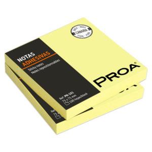 PROA - Notas adhesivas 75x75 mm - Classic