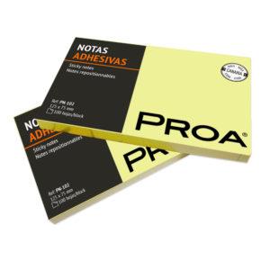 PROA - Notas adhesivas 125x75 mm - Classic