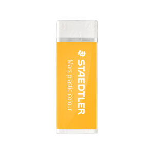 STAEDTLER - Goma de Borrar Mars® plastic 526 50 - Amarillo (caja 20 unidades)
