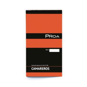 PROA - TALONARIO - CAMARERO - 3 en folio - Duplicado