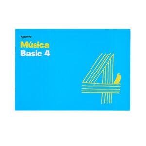 ADDITIO - Cuaderno de música - Música Basic 4