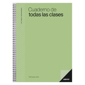 ADDITIO - Útil para el profesorado - Cuaderno de Todas las Clases - Semana Vista