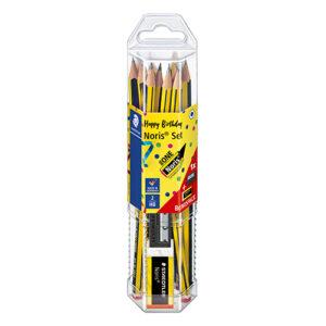STAEDTLER - Set 12 lápices - 2 (HB) Noris® + afilado y borrador de REGALO - ANIVERSARIO